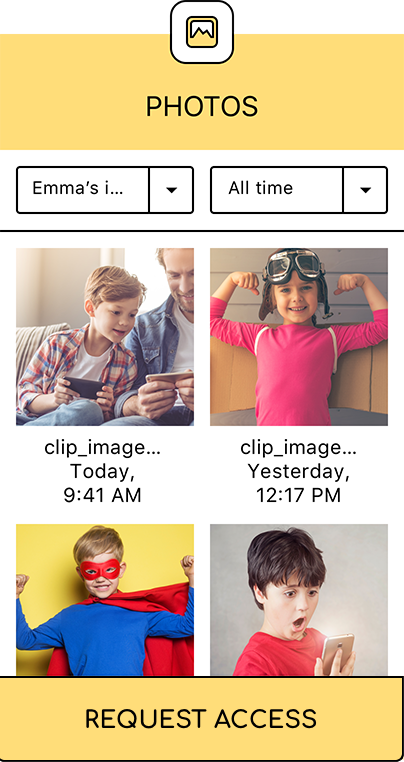 Reviewing Multimedia Files(photos) - KidSecured.com